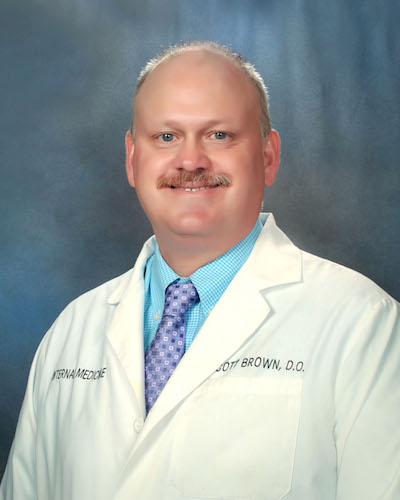 Barry S. Brown, DO Jackson River Internists